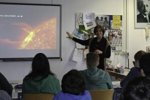 Presentatie op school